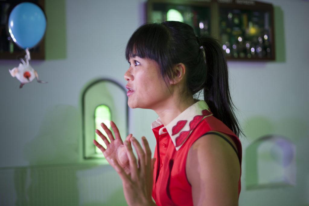 Theatervoorstelling Meisje